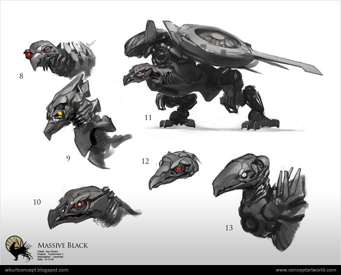 Tranformers Dark of the Moon Concept Art Wesley Burt 10a