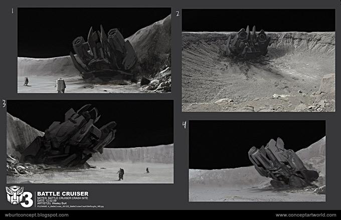 Tranformers Dark of the Moon Concept Art Wesley Burt 28a