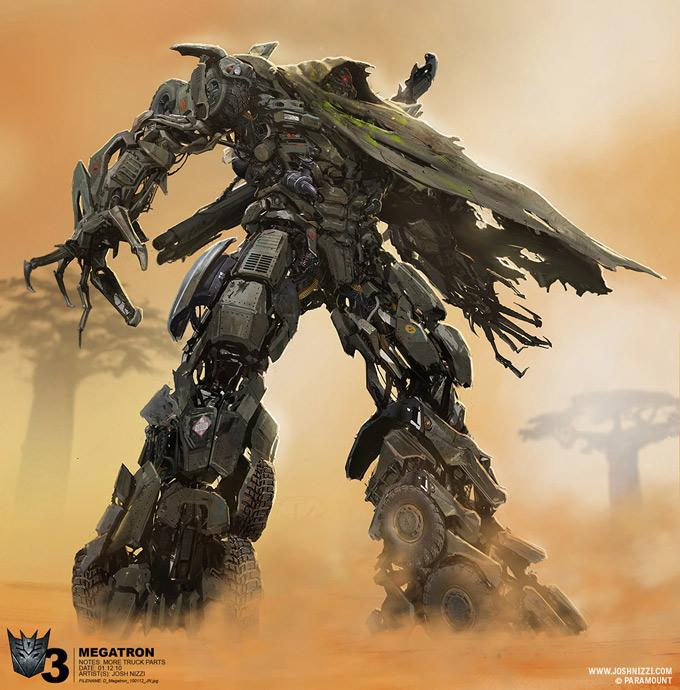 Transformers Dark of the Moon Concept Art by Josh Nizzi 02a