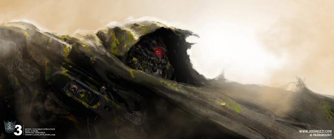 Transformers Dark of the Moon Concept Art by Josh Nizzi 03a