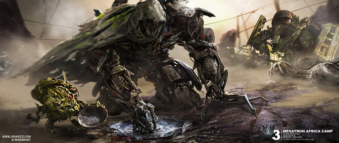 Transformers Dark of the Moon Concept Art by Josh Nizzi 05a