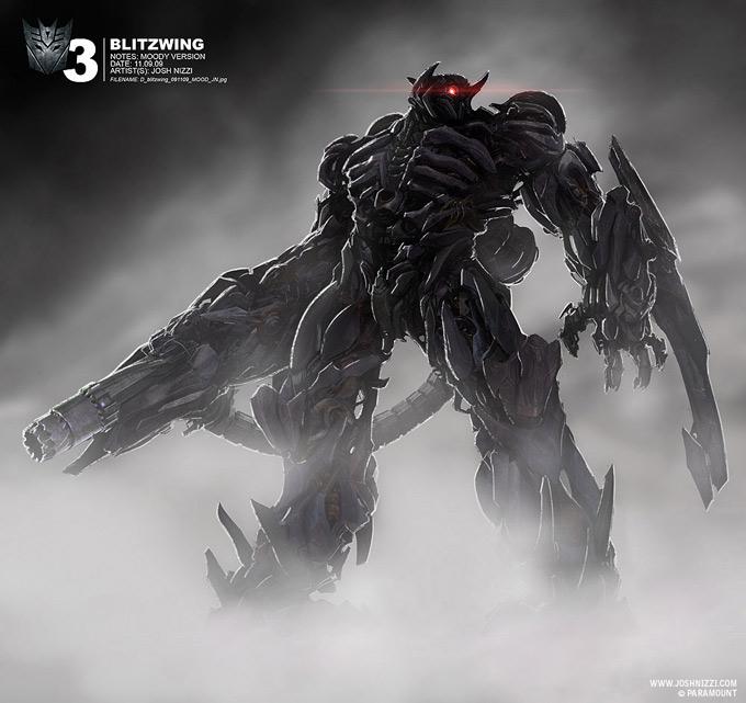 Transformers Dark of the Moon Concept Art by Josh Nizzi 11a