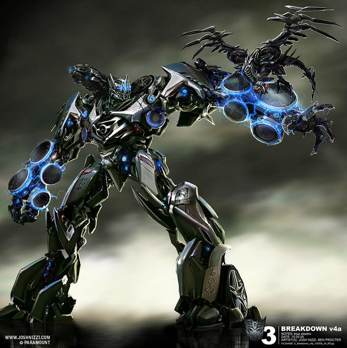 Transformers Dark of the Moon Concept Art by Josh Nizzi 12a