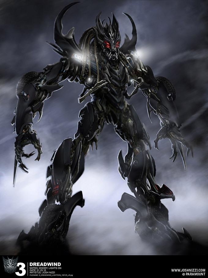 Transformers Dark of the Moon Concept Art by Josh Nizzi 15a