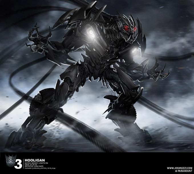 Transformers Dark of the Moon Concept Art by Josh Nizzi 16a