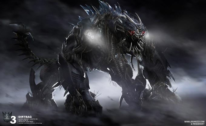 Transformers Dark of the Moon Concept Art by Josh Nizzi 17a