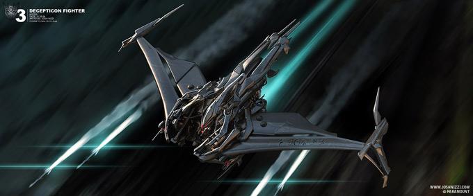 Transformers Dark of the Moon Concept Art by Josh Nizzi 19a
