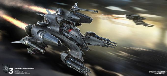 Transformers Dark of the Moon Concept Art by Josh Nizzi 20a