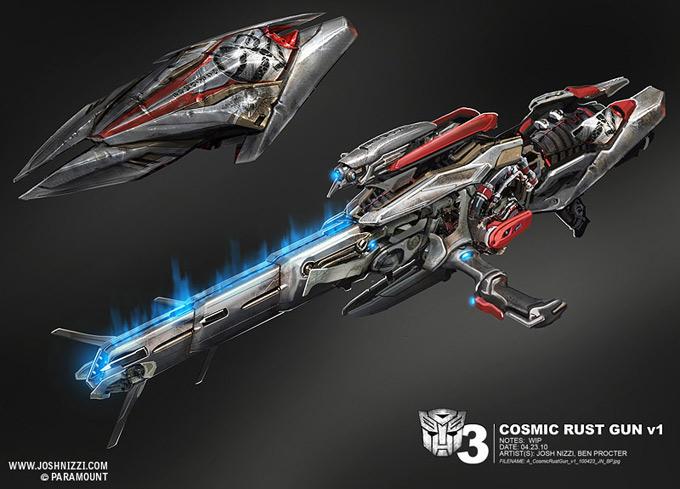 Transformers Dark of the Moon Concept Art by Josh Nizzi 21a