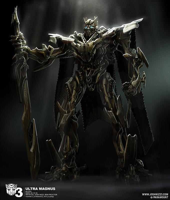 Transformers Dark of the Moon Concept Art by Josh Nizzi 22a