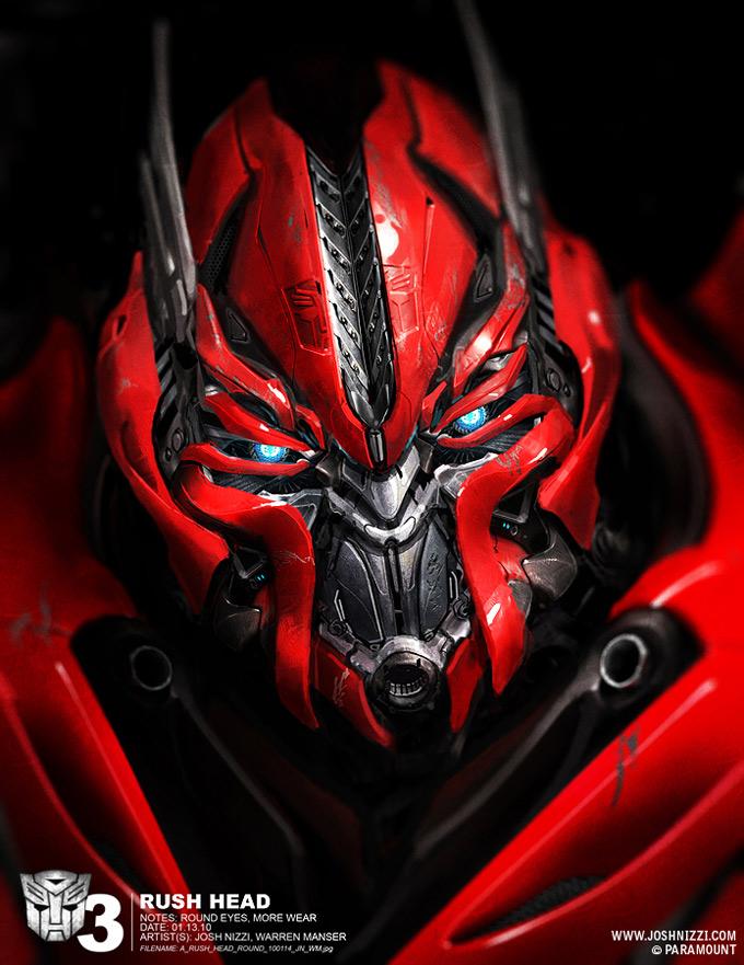 Transformers Dark of the Moon Concept Art by Josh Nizzi 23a
