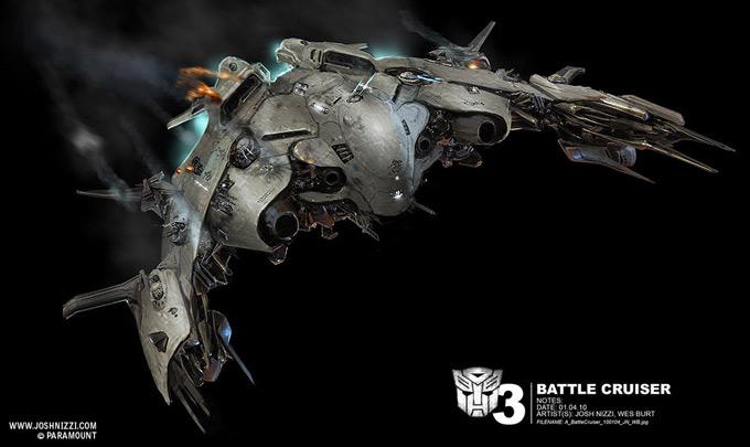 Transformers Dark of the Moon Concept Art by Josh Nizzi 24a