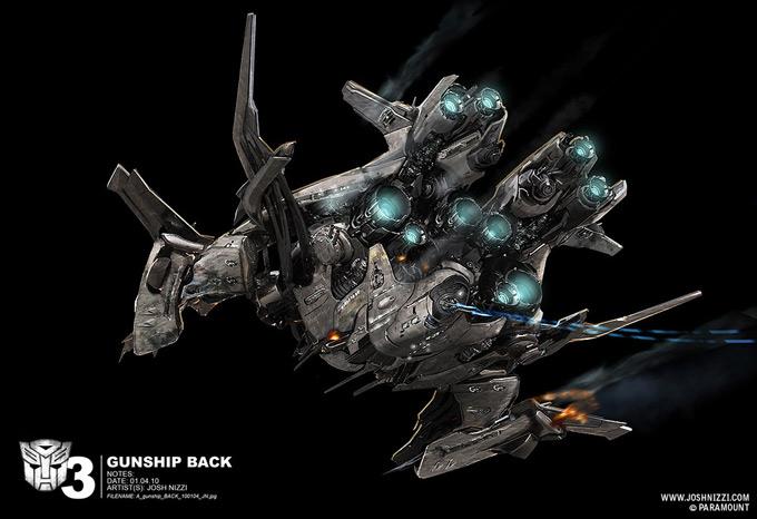 Transformers Dark of the Moon Concept Art by Josh Nizzi 25a