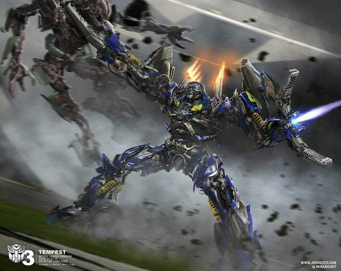 Transformers Dark of the Moon Concept Art by Josh Nizzi 26a