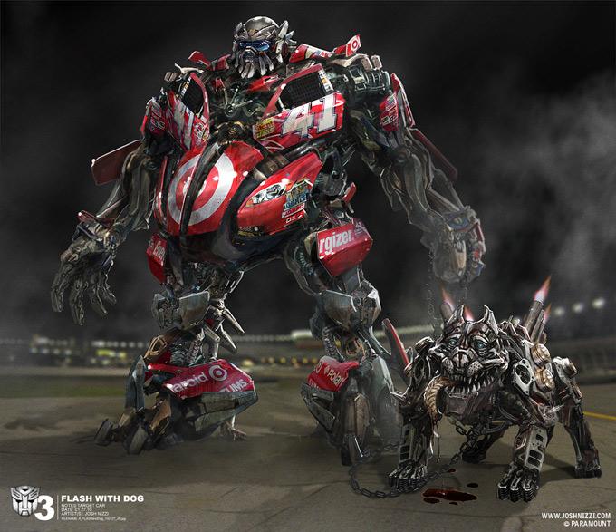 Transformers Dark of the Moon Concept Art by Josh Nizzi 27a