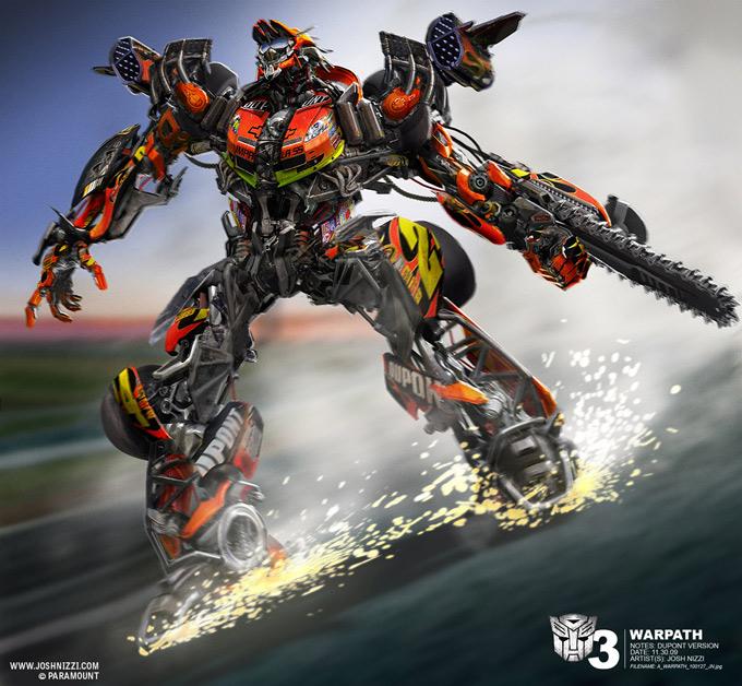 Transformers Dark of the Moon Concept Art by Josh Nizzi 29a