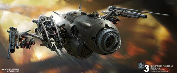 Transformers Dark of the Moon Concept Art by Josh Nizzi 30a