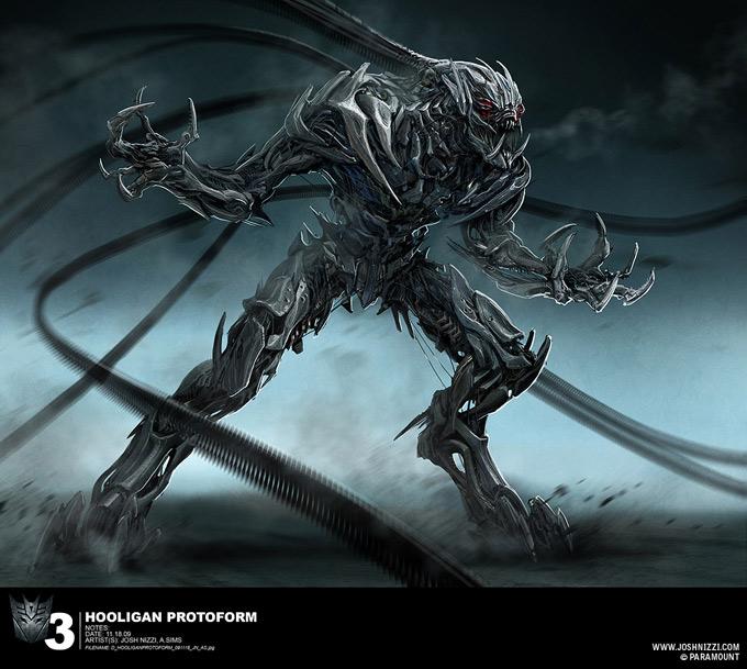 Transformers Dark Of The Moon Concept Art By Josh Nizzi