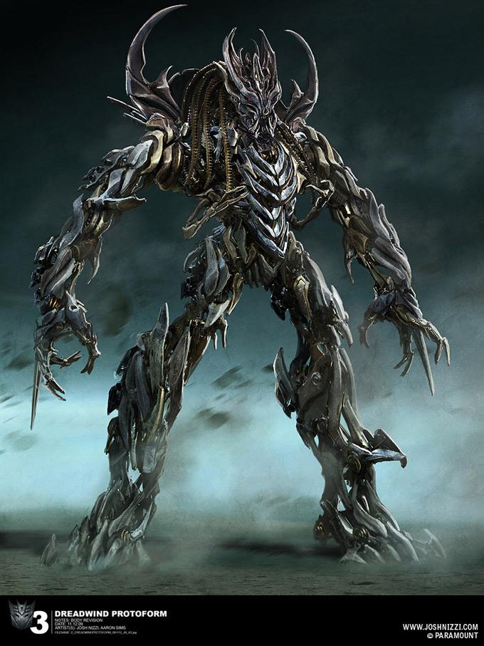 Transformers Dark of the Moon Concept Art by Josh Nizzi 34a