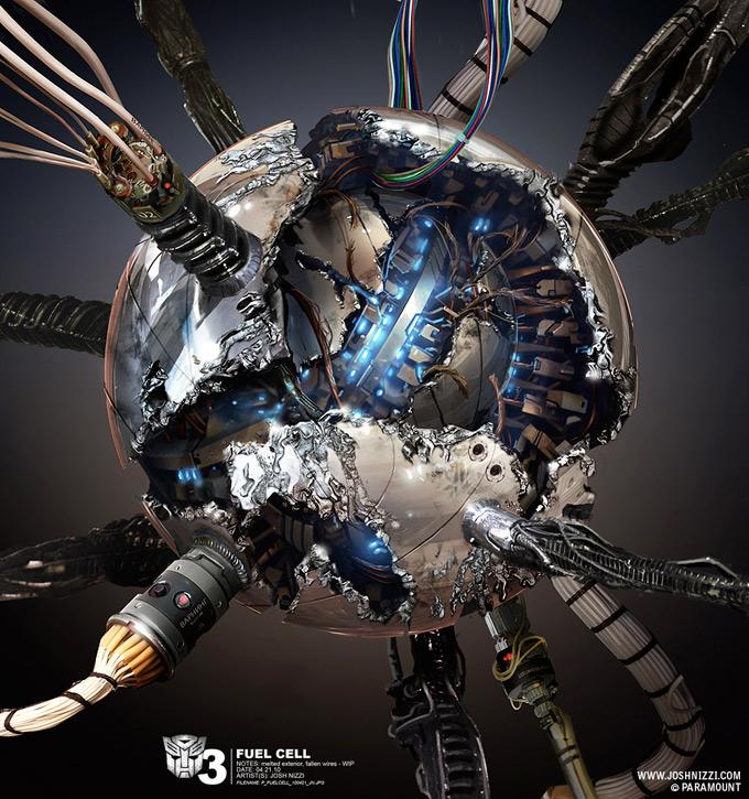Transformers Dark of the Moon Concept Art by Josh Nizzi 36a