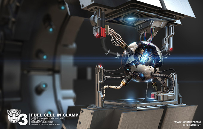 Transformers Dark of the Moon Concept Art by Josh Nizzi 40a