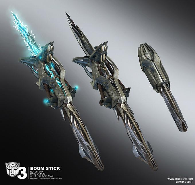 Transformers Dark of the Moon Concept Art by Josh Nizzi 41a