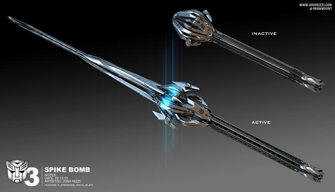 Transformers Dark of the Moon Concept Art by Josh Nizzi 43a