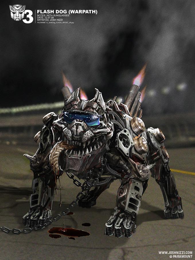 Transformers Dark of the Moon Concept Art by Josh Nizzi 44a