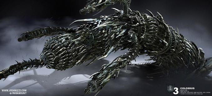 Transformers Dark of the Moon Concept Art by Josh Nizzi 45a