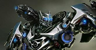 Transformers Dark of the Moon Concept Art by Josh Nizzi main