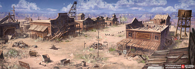 Call of Juarez The Cartel Concept Art 14a