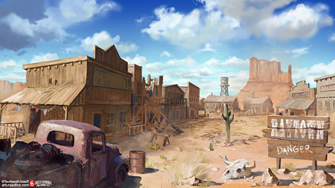Call of Juarez The Cartel Concept Art 15a
