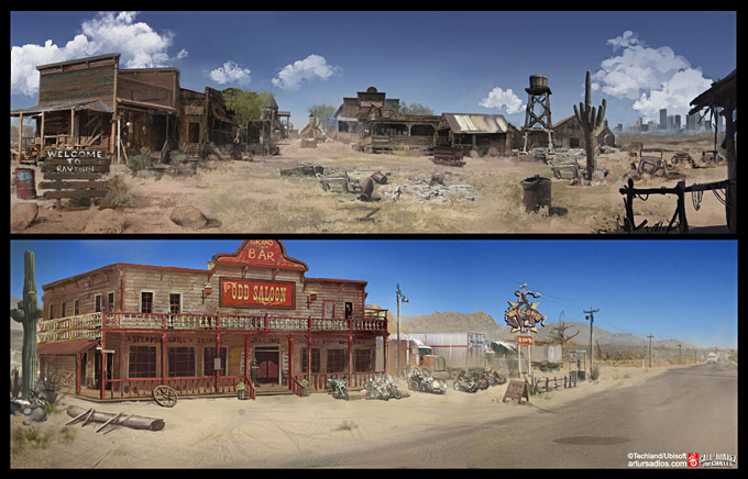 Call of Juarez The Cartel Concept Art 18a