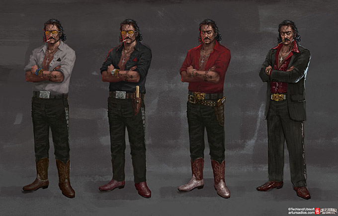 Call of Juarez The Cartel Concept Art 19a