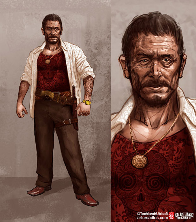 Call of Juarez The Cartel Concept Art 20a