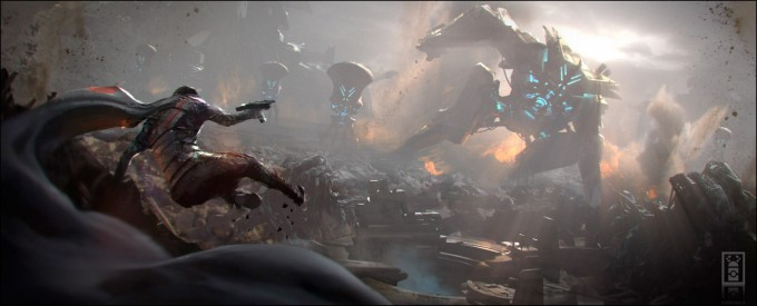 Joseph_McLamb_Concept_Art_02_Robot_Attack