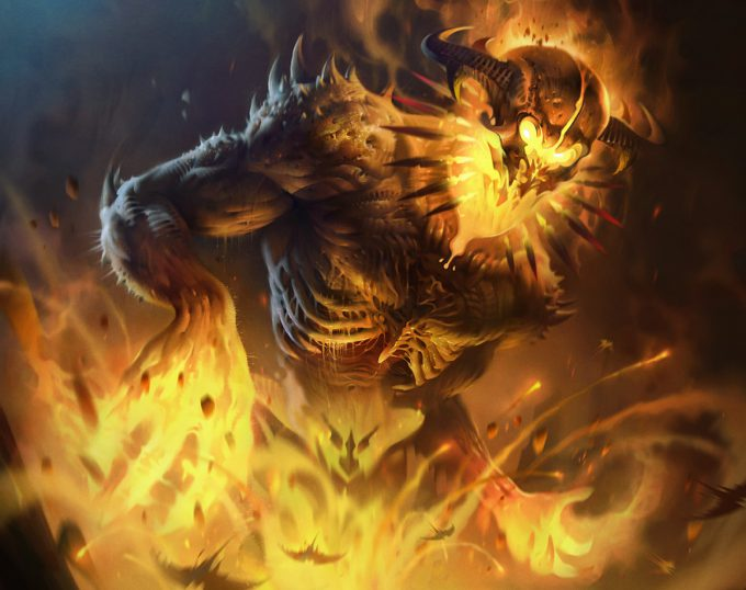 Ivan_Laliashvili_Concept_Art_Illustration_08_fire_golem