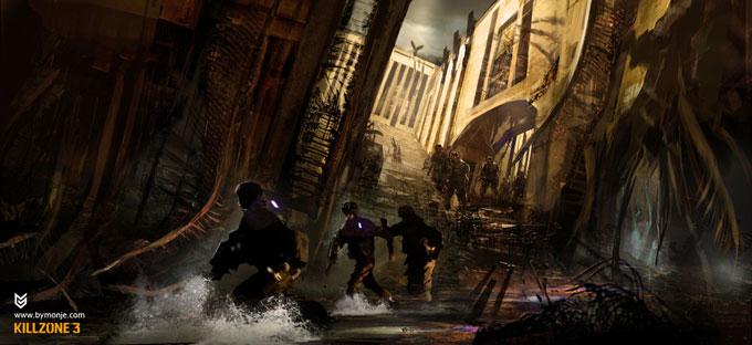 Killzone 3 Concept Art Miguel Angel Martinez 01a