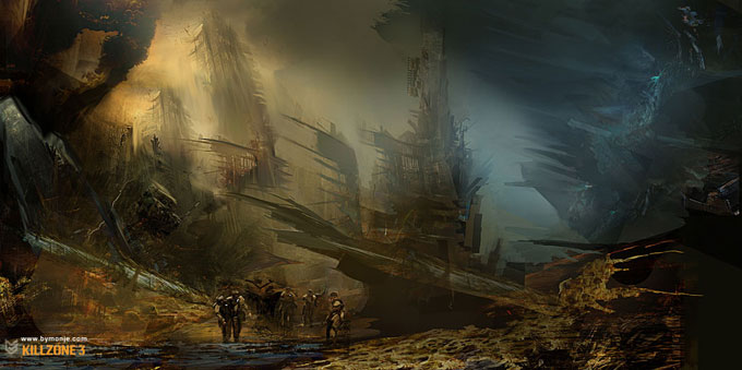 Killzone 3 Concept Art Miguel Angel Martinez 03a