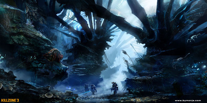 Killzone 3 Concept Art Miguel Angel Martinez 04a