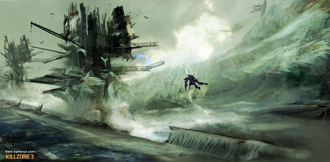 Killzone 3 Concept Art Miguel Angel Martinez 06a
