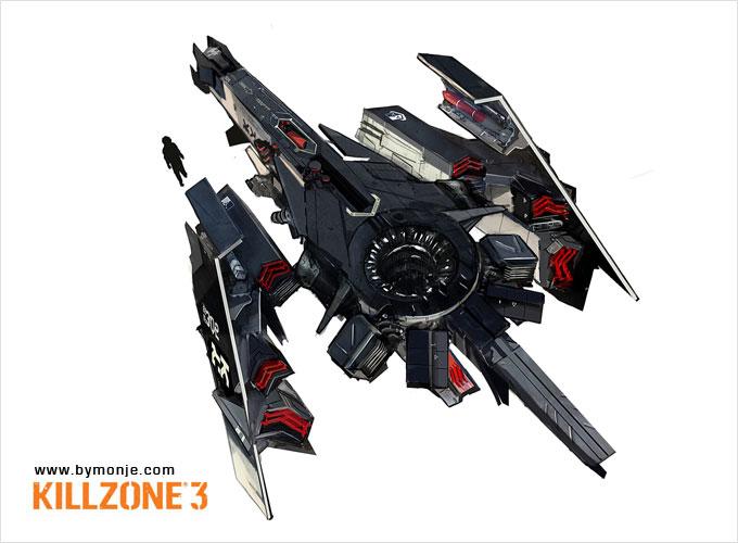 Killzone 3 Concept Art Miguel Angel Martinez 15a