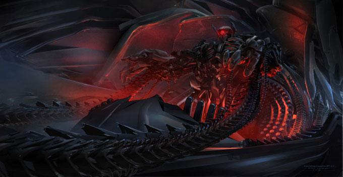 Transformers Dark of the Moon Concept Art by Ryan Church 09a