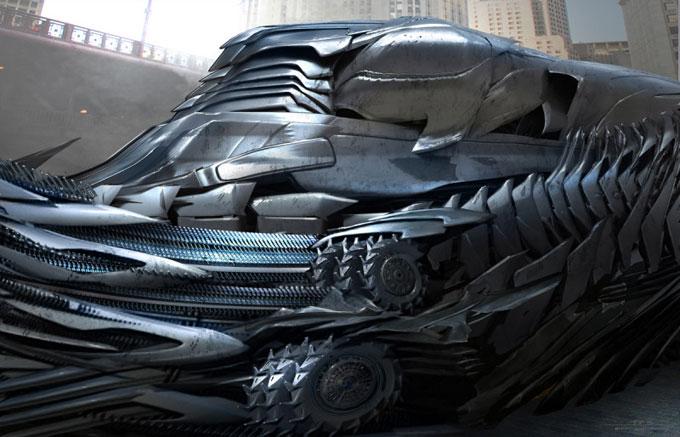 Transformers Dark of the Moon Concept Art by Ryan Church 10a