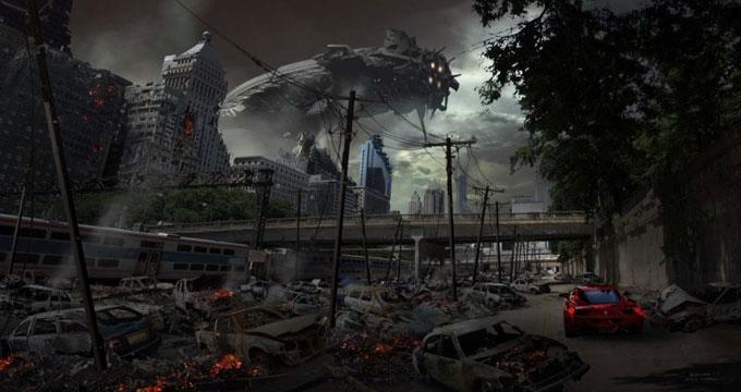 Transformers Dark of the Moon Concept Art by Ryan Church 16a