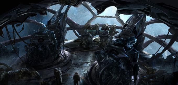 Transformers Dark of the Moon Concept Art by Ryan Church 17a