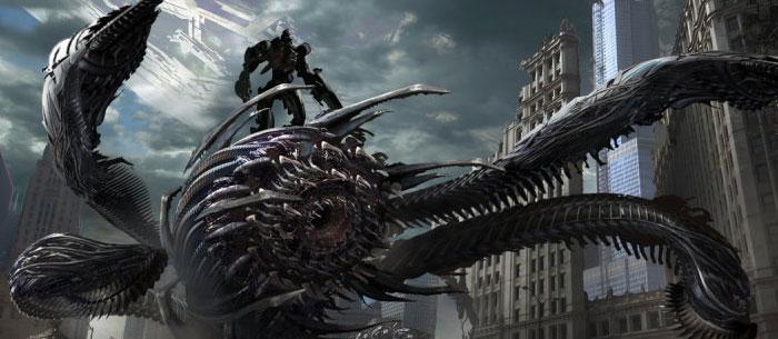 Transformers Dark of the Moon Concept Art by Ryan Church main