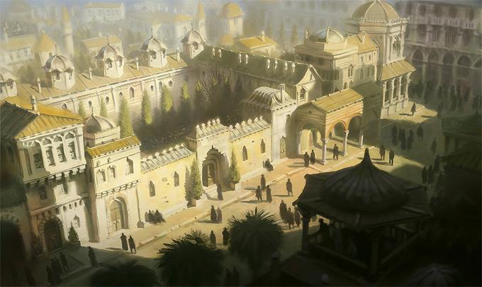 AssassinsCreed Revelations Concept Art Gilles Beloeil 11a