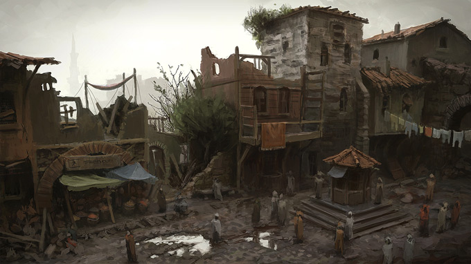 AssassinsCreed Revelations Concept Art Gilles Beloeil 13a