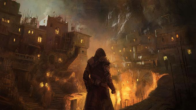AssassinsCreed Revelations Concept Art Gilles Beloeil 17a